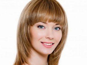 مدل مو برای انواع صورت مثلثی