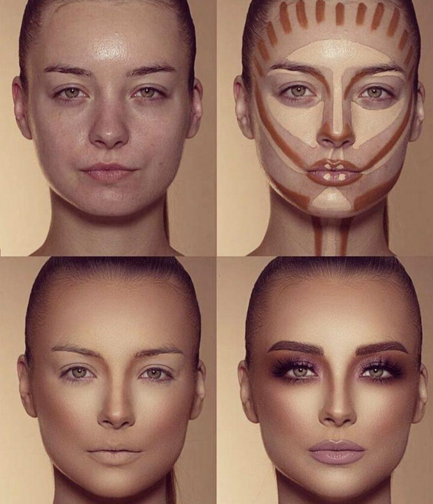گریم صورت و تغییر چهره