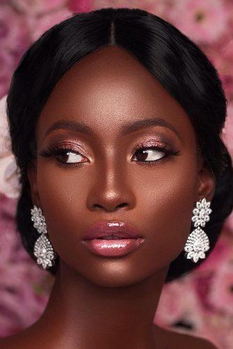 آرایش عروس با پوست تیره