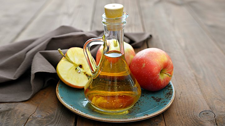 درمان جوش صورت با سرکه سیب