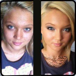 گریم صورت و رفع اشکال برای زیبایی بیشتر آرایش صورت سینمایی و مجلسی آموزش با عکس