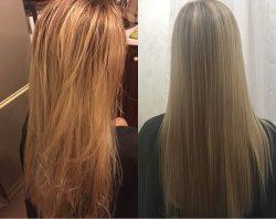 صاف کردن موهای حالت دار