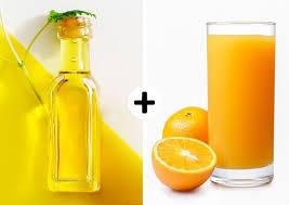 از بین بردن گودی چشم با اب پرتقال و گلیسیرین