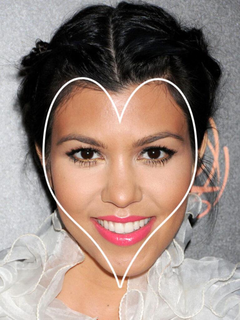 مدل مو برای انواع صورت قلبی