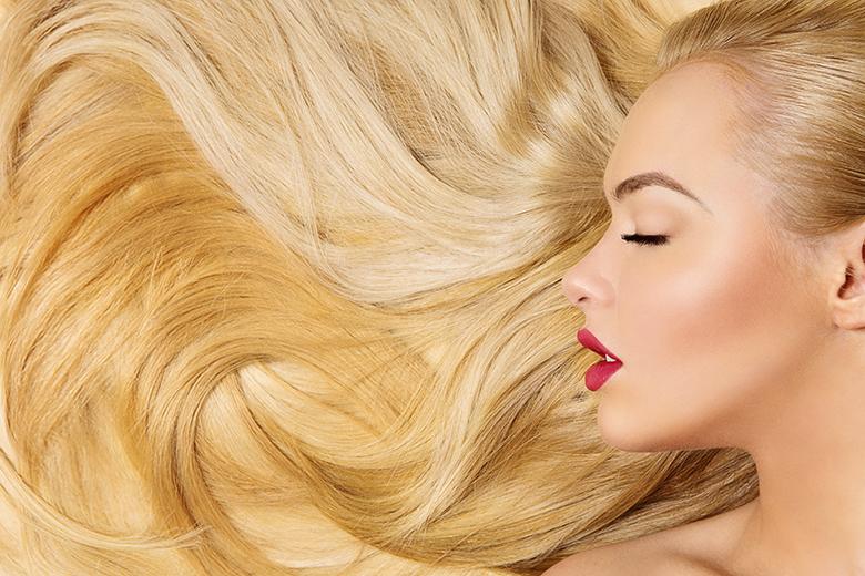رشد موی سر بلوند