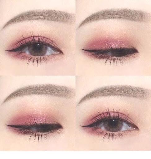 آرایش چشم ملایم برای چشم بادامی