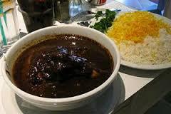 عکس خورشت گوشت و خرما