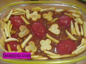 خورشت سیب سرخ و طرز تهیه ان در پورتال جامع فرانیاز فراترازنیاز هر ایرانی