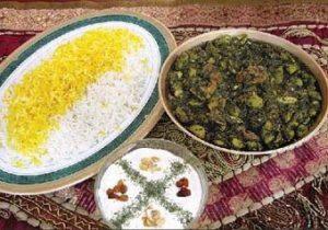 خورشت چغاله بادام و طرز تهیه ان در پورتال جامع فرانیاز فراتر از نیاز هر ایرانی
