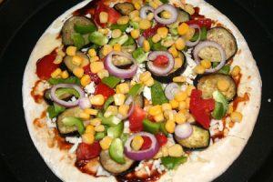 پیتزا سبزیجات در سبک ناتورالیسم