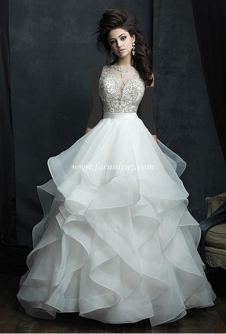 ژورنال ۲۰۱۶ از جدیدترین مدلهای لباس عروس در پورتال جامع فرانیاز فراتراز نیاز