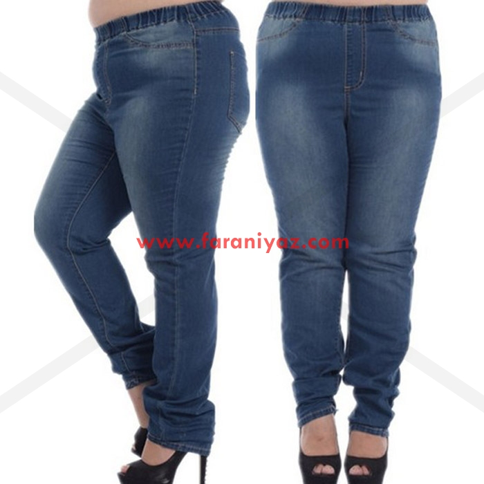 شیک ترین مدل های شلوار برای خانم های چاق و تپل