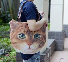 تصاویری از عجیب ترین کیف دستی شبیه گربه