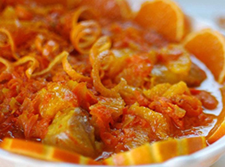 خورشت پرتقال و طرز تهیه ان در پورتال جامع فرانیاز فراترازنیاز هر ایرانی