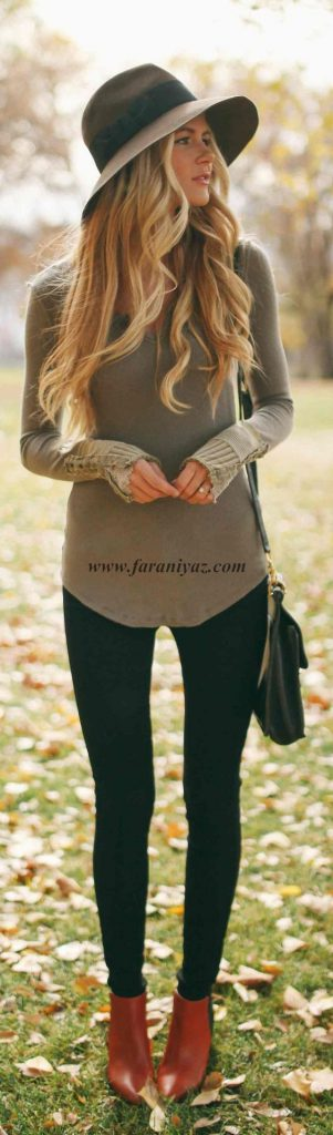 جدیدترین و زیباترین تیپ و مدل لباس پاییزی زمستانی