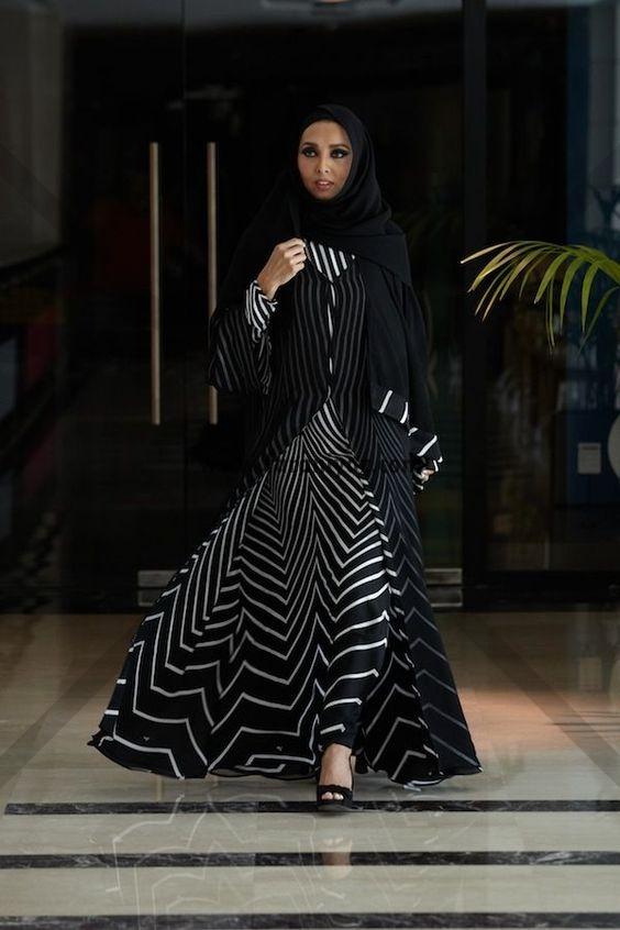 عکس شیک ترین مدل مانتو عربی زنانه و دخترانه