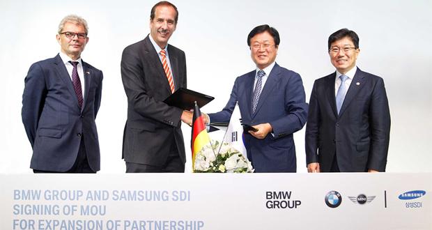 عکس شراکت جدید سامسونگ با سه کمپانی خودروساز بزرگ آلمانی