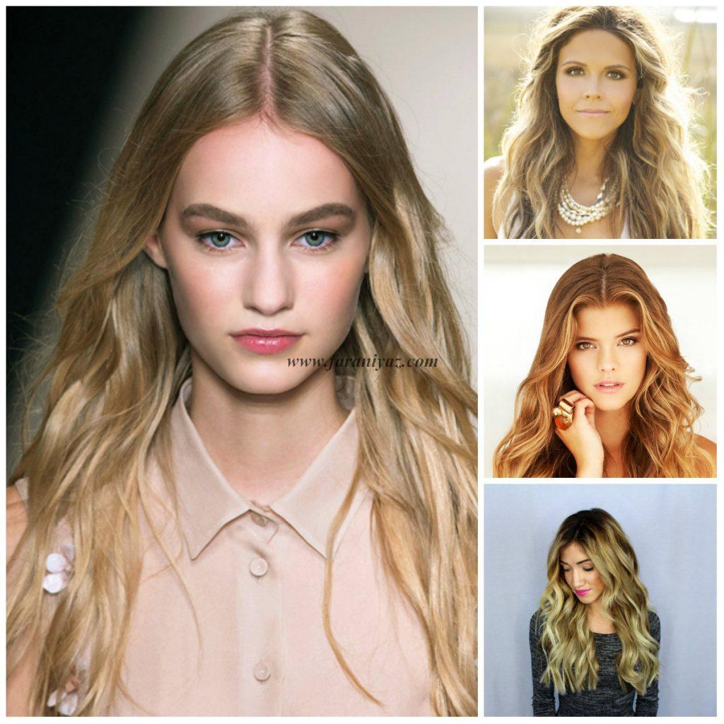 شیک ترین مدل مو پاییزی زنان و دختران هالیوودی
