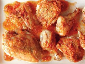 مرغ با سس سوفریتو