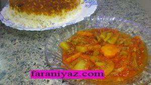 خورشت کیوی و طرز تهیه ان در پورتال جامع فرانیاز فراترازنیاز هر ایرانی