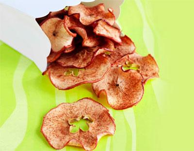عکس چیپس رژیمی سیب