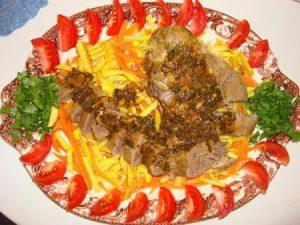 خوراک زبان گوساله و طرز تهیه ان در پورتال جامع فرانیاز فراتر از نیاز هر ایرانی