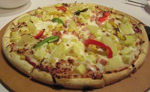 پیتزای مرغ و سیب زمینی رژیمی در پورتال جامع فرانیاز