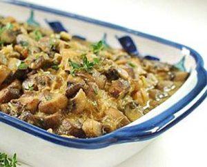 خوراک مرغ و قارچ رژیمی در پورتال جامع فرانیاز