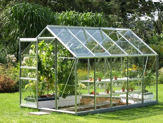 مراحل ساخت گلخانه