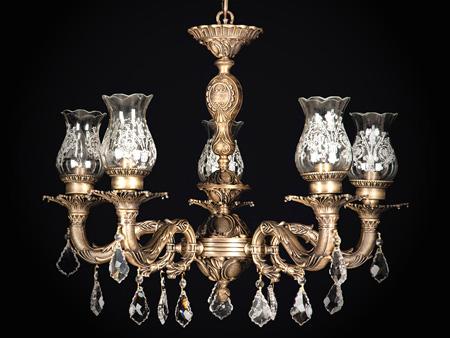 انواع لوستر در طرح های کلاسیک و مدرن
