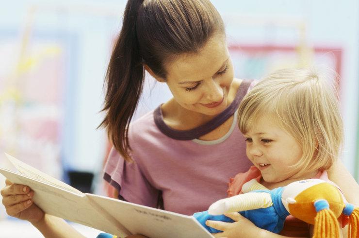 به حرف امدن کودکان