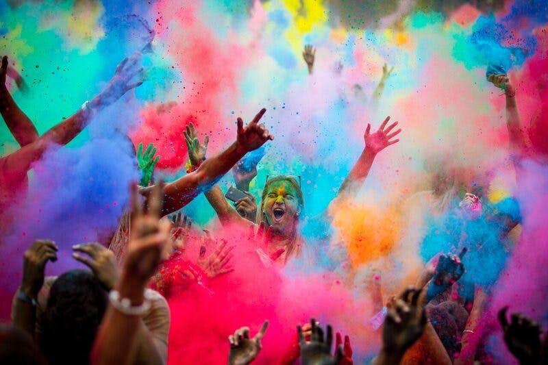 روانشناسی رنگها در محیط اطراف