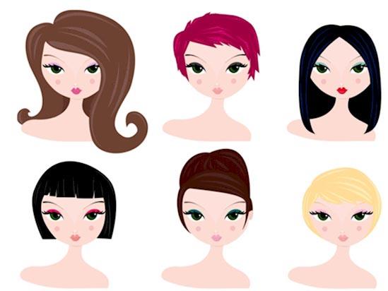 شناخت شخصیت با رنگ و حالت موها