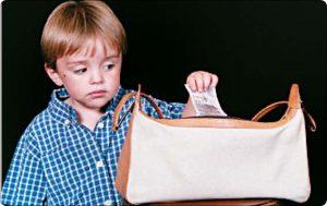 دلایل دزدی کودکان