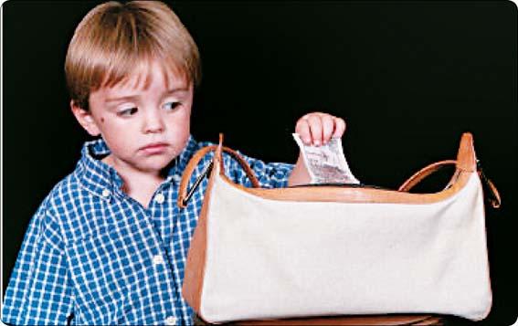 عکس دلایل دزدی کودکان