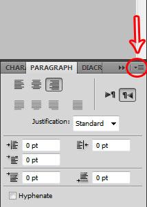 فونت در فتوشاپ | برعکس و یا جدا نوشتن حروف در فتو شاپ