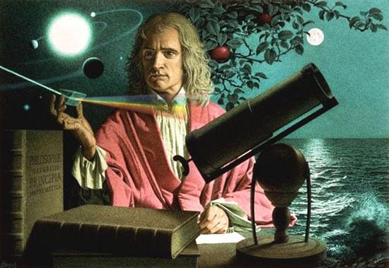 عکس زندگینامه آیزاک نیوتن