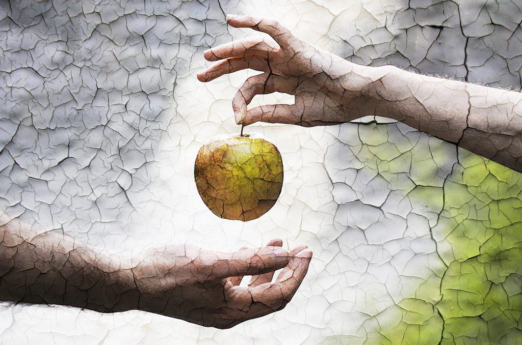 عکس ابلیس چگونه دوباره وارد بهشت شد و آدم و حوا را گول زد؟