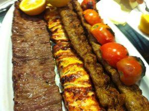 طرز تهیه کباب با گوشت در پورتال جامع فرانیاز