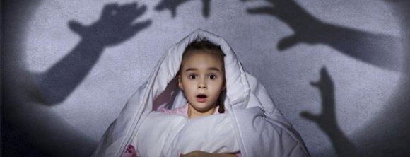 عکس دلایل ترس کودکان