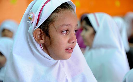 عکس دلایل نگرانی کودکان برای رفتن به مدرسه