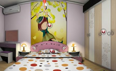 آشنایی با چیدمان و دکوراسیون اتاق خواب کودکان