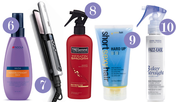 ۱۰ مدل از بهترین برندهای کراتین تزریق مو