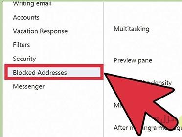 آموزش مسدود کردن آدرس ایمیل های مزاحم