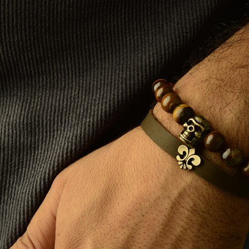 عکس دستبند مردانه