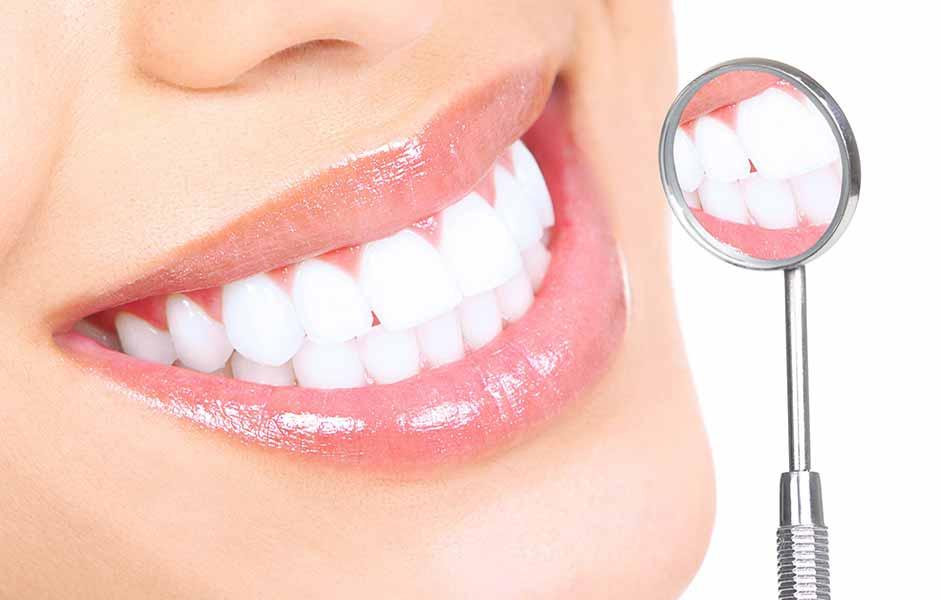 راهی برای ترمیم مینای دندان . عکس دندان
