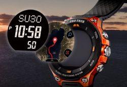 عکس رونمایی PRO TREK WSD-F20 - دومین ساعت هوشمند اندرویدی کاسیو