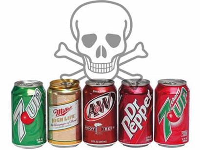 نوشیدنی های مضر