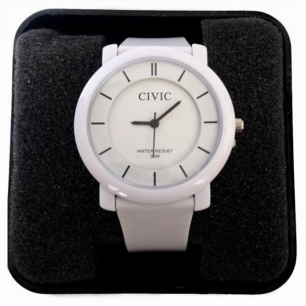 ساعت مچی طرح ساده SIVIC سفید ضد آب