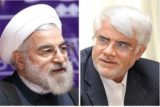 عکس آقای عارف به آقای «روحانی» نامه نوشت
